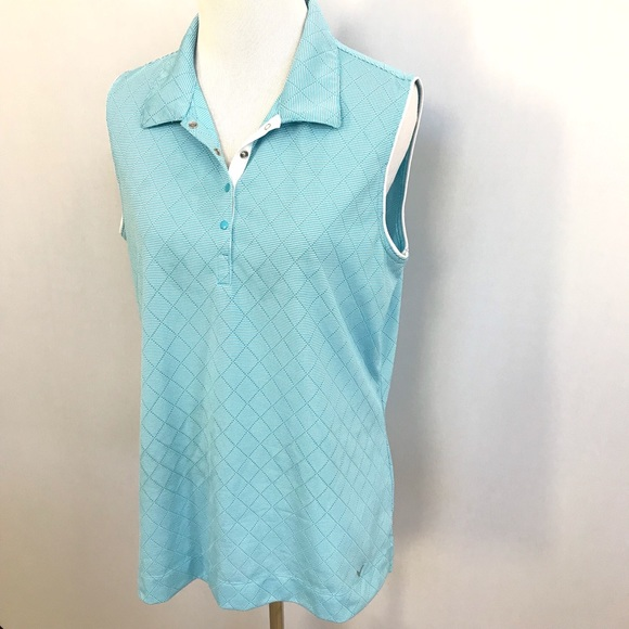 45a5e33872005 Callaway Tops - Women s CALLAWAY sleeveless golf polo shirt - XL